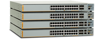 AT-x610 series - Advanced Gigabit layer 3 Stackable Switch