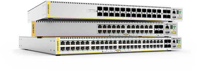 AT-x510 series - Advanced Gigabit Layer 3 Stackable Switch