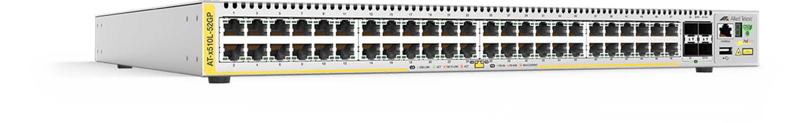 AT-x510L series - Advanced Gigabit Layer 3 Stackable Switch