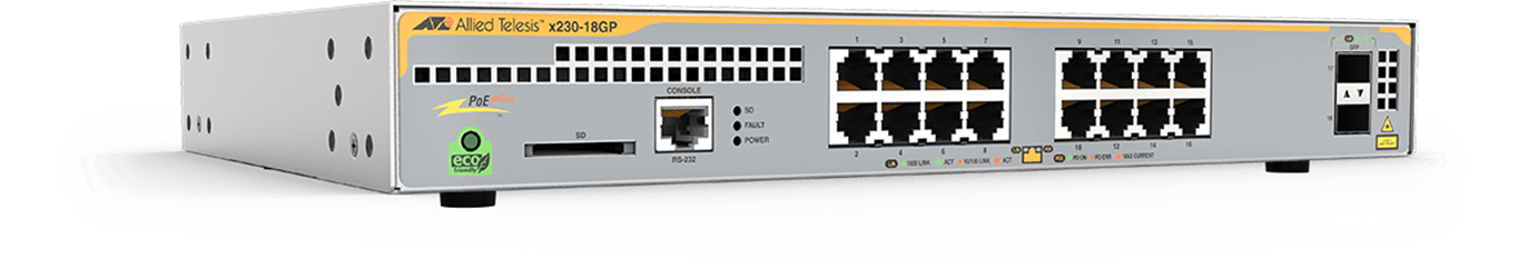 AT-X230 Series - Layer 2+ Gigabit Switch