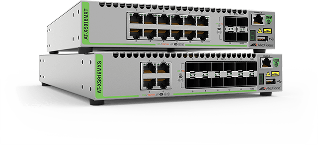 AT-XS900MX - Advanced 10 Gigabit Layer 3 Switch