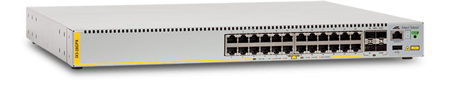 AT-IX5-28GPX - Advanced Gigabit Layer 3 POE Industial Switch