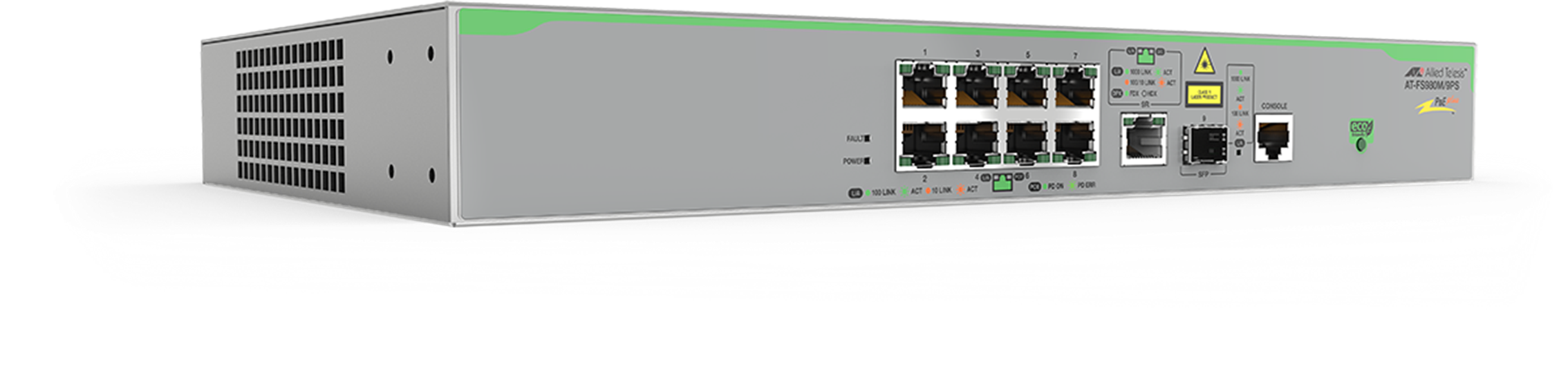 AT-FS980M Series - Layer 2 Fast Ethernet Switch