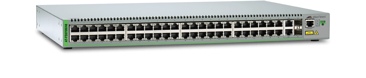 AT-FS970 Series - Layer 2 Fast Ethernet Switch (EoS)