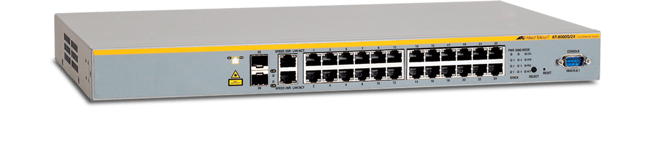 AT-8000S Series - Layer 2 Fast Ethernet Switch