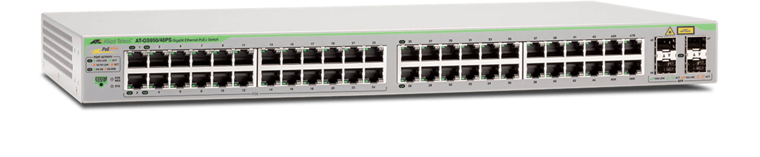 AT-GS950 Series - Layer 2 Websmart Gigabit Switch