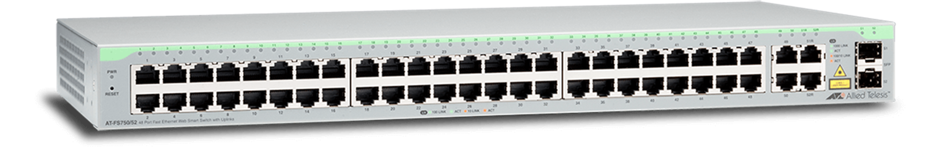 AT-FS750 Series - Layer 2 Websmart Fast Ethernet Switch