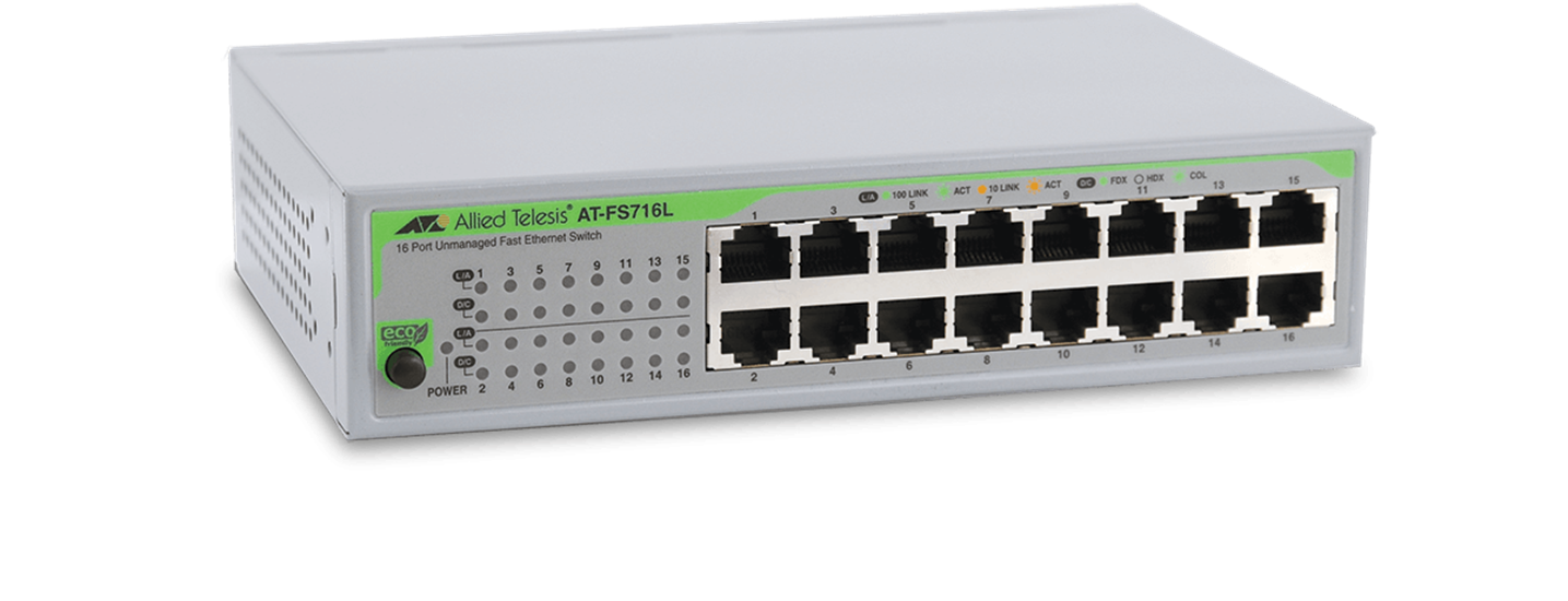 AT-FS700 Series - Unmanaged Fast Ethernet Switch