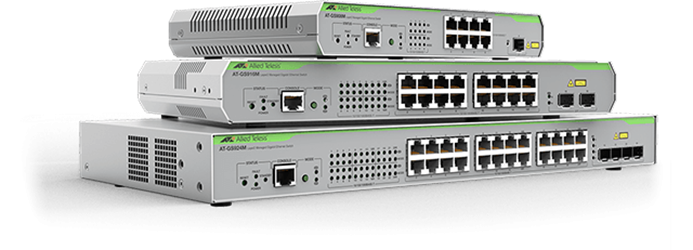 AT-GS900M Series - Layer 2 Gigabit Switch