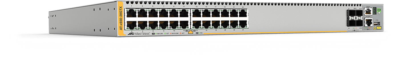 AT-x930 series - Advanced Gigabit Layer 3 Stackable Switch